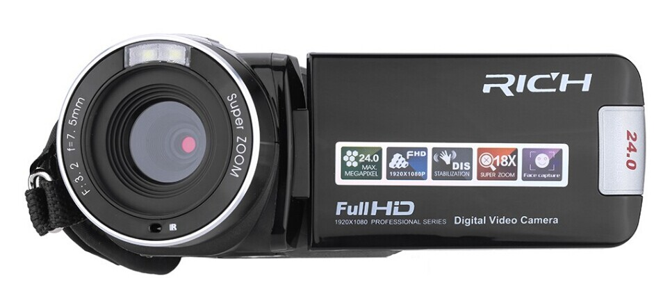 Budget digital camcorder